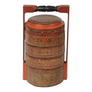 Antique Burmese Box For Sale