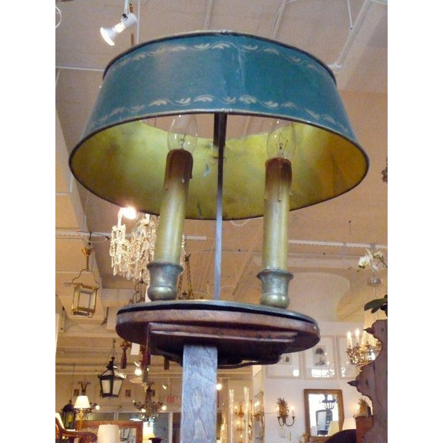 19th Century Adjustable Wooden Floor Lamp For Sale - Image 4 of 7