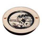 Image of Contemporary Handmade Ceramic Plate For Sale