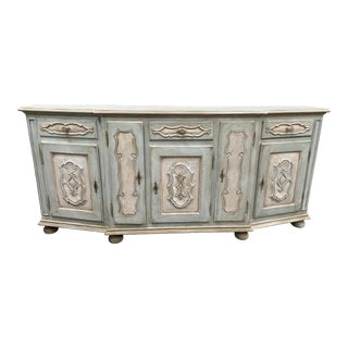 Italian Painted Sideboard Credenza - Early 20th C For Sale