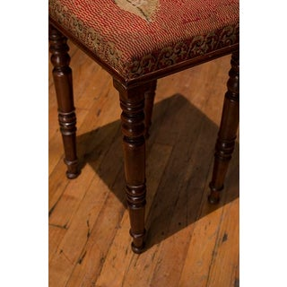 English Tall Needlepoint Stool Preview