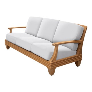 Giati Palazzio Sofa in Natural Canvas For Sale