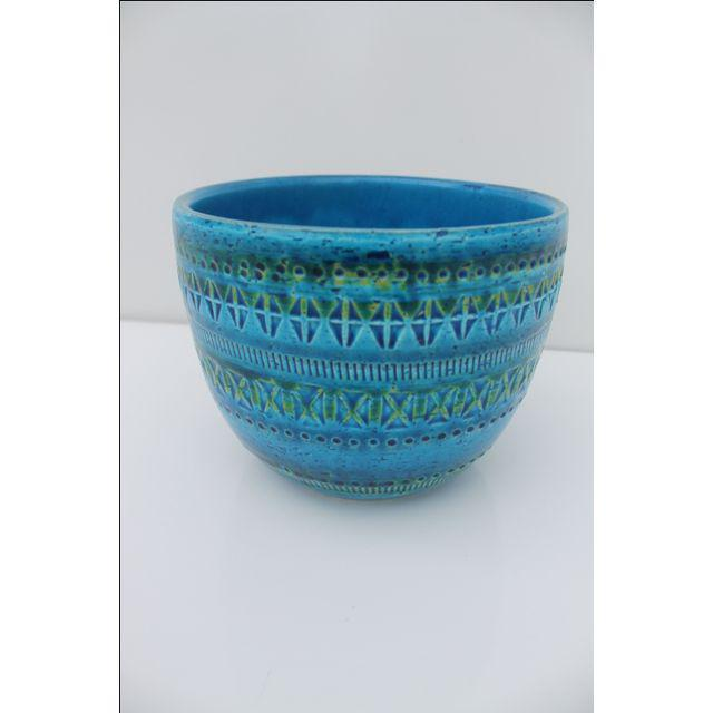 Aldo Londi Bitossi Pottery Planter - Image 6 of 6