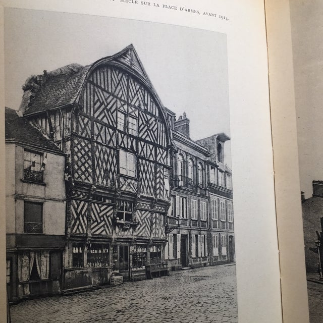 1943 Au Coeur De La Picardie Meurtrie Scarce Book For Sale - Image 9 of 11
