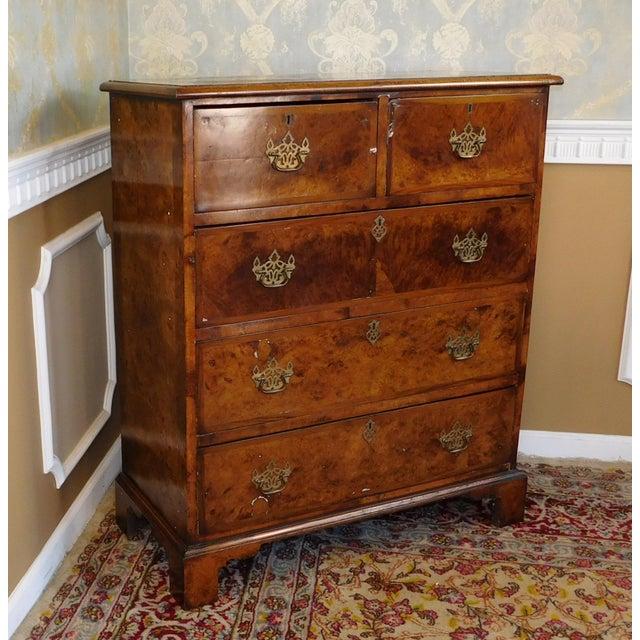 Antique American Walnut & Elm Bedroom Chest - Image 3 of 10