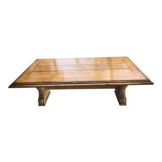 Spanish Style Coffee Table For Sale