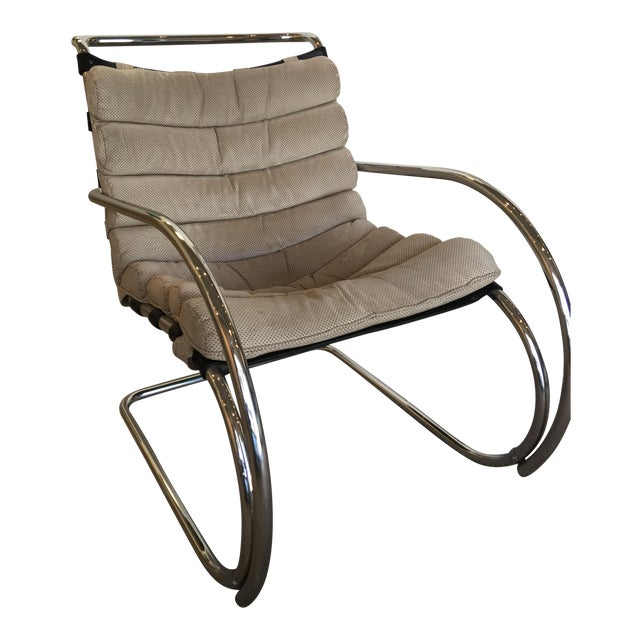 Vintage Mid Century Mies Van Der Rohe Mr Chair Chairish