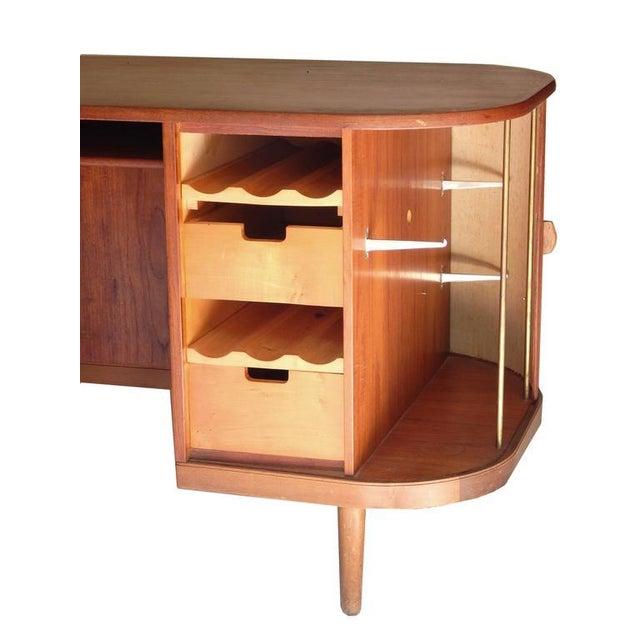 """Perfect Scandinavian """"Mad-Men"""" Desk - Image 8 of 10"""
