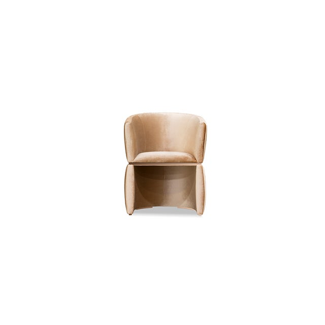 Inspired by the classic cuff bracelet style, the Cuff chair's elegant curved shape comfortably embraces its guests....