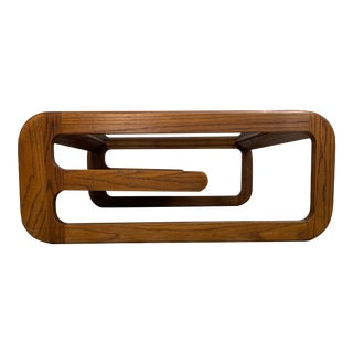 Mid Century Modern Lou Hodges Coffe Table For Sale