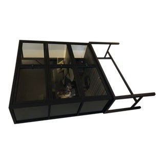 Black Display Curio Cabinet For Sale