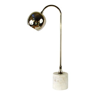 Bungalow 5 Electra Table Lamp, Nickel For Sale