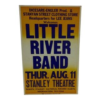 """""""Little River Band"""" Vintage Concert Poster For Sale"""
