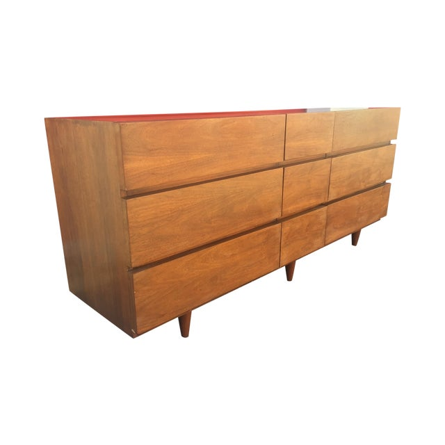 Mid Century Dresser by American of Martinsville - Image 1 of 7