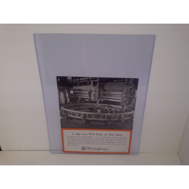 Industrial Vintage Westinghouse Advertising Poster, No. 48 For Sale - Image 3 of 8