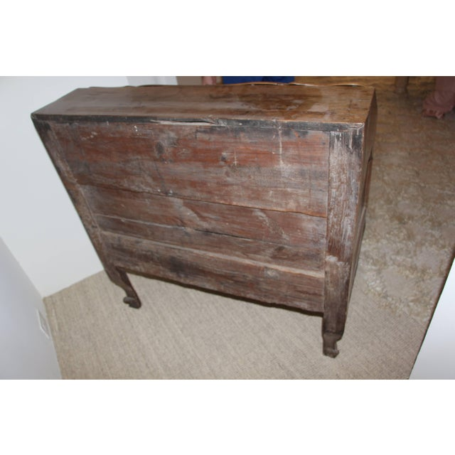 Wood 18th Century French Provincial Slant Front Desk With Hidden Compartment For Sale - Image 7 of 10