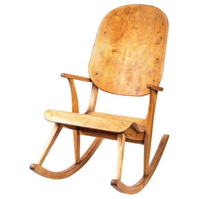 1940s Vintage Ilmari Tapiovaara Rocking Chair For Sale