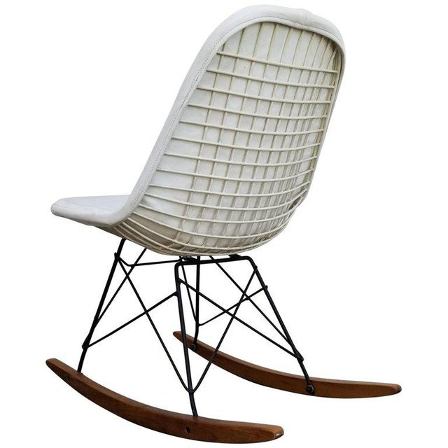 Eames Wire Seat Rkr Rocker For Sale - Image 9 of 9