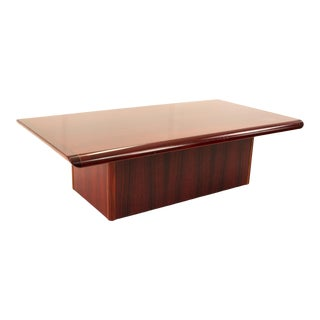 Mid Century Rosewood Coffee Table For Sale