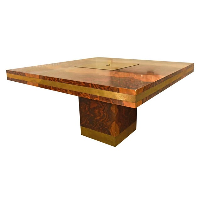 Willy Rizzo Dining Table For Sale - Image 10 of 10