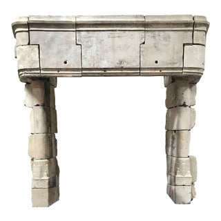 15th Century Gothic Mantel For Sale