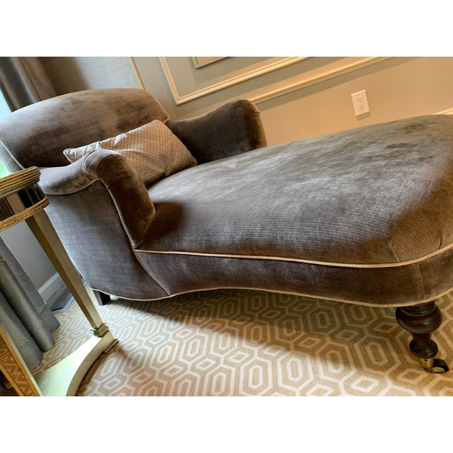 Modern Gray Lee Industries Chaise For Sale In Philadelphia - Image 6 of 7