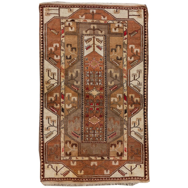 Mid 20th Century Vintage Rug For Sale - Image 9 of 9