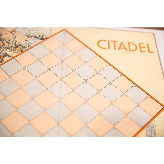 Children's Vintage Parker Brothers Citadel Game Board For Sale - Image 3 of 7