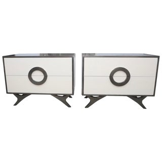 Pair of Bridges Over Time Originals Nightstands or End Tables For Sale