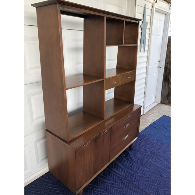 1960s Mid Century Modern Broyhill Premier Accent Line Hutch For Sale - Image 12 of 13