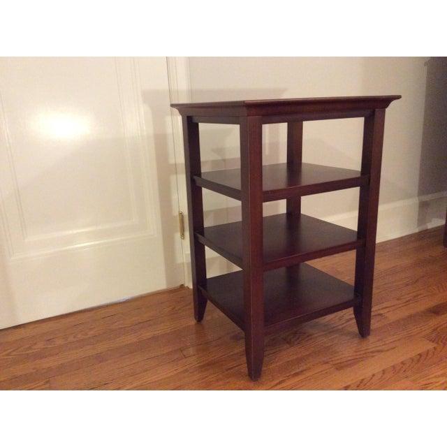 Open Shelf Side Table - Image 2 of 5