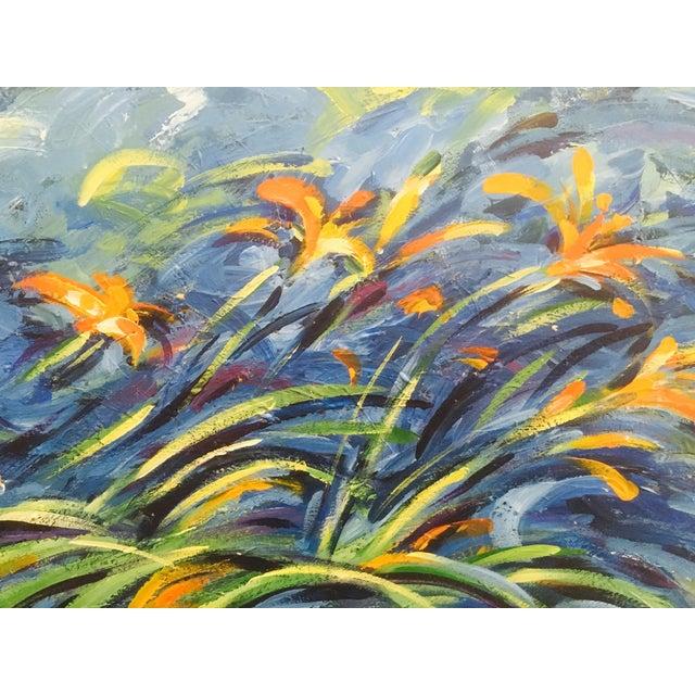 Original Expressionistic Impasto Painting - Image 3 of 8
