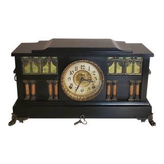 Early 20th Century American E. Ingraham Palace Mantel Clock For Sale
