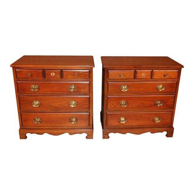 Pair American Permacraft Bachelor's Chests For Sale