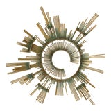 Image of 1980s Curtis Jere Retro Modern Abstract Wall Sculpture For Sale