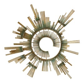 Image of Brass Sculptural Wall Objects