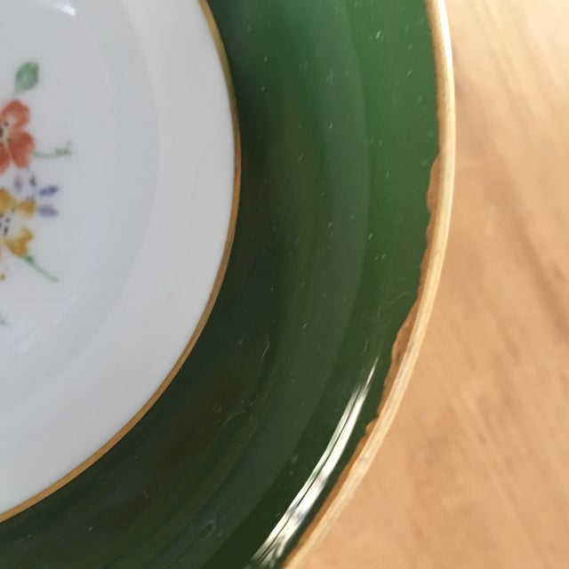 Green Crown Staffordshire Tea Cup For Sale - Image 8 of 9