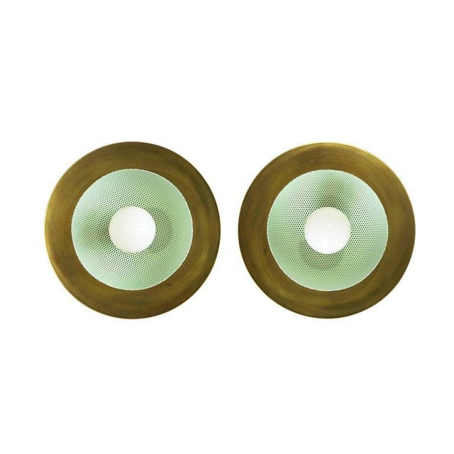 """""""Centric"""" Wall Sconces - a Pair For Sale - Image 12 of 12"""