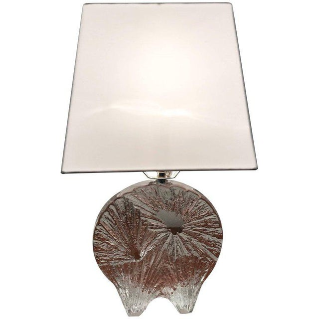 1960 Daum Crystal French Table Lamp For Sale - Image 11 of 11