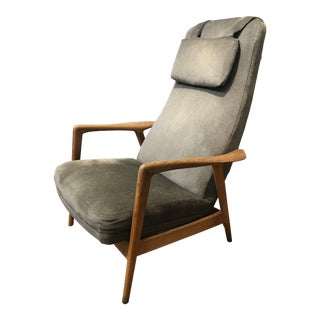 Folke Ohlsson for DUX Reclining Lounge Chair