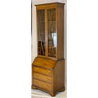 Late 20th Century Kittinger George III Inlaid Mahogany Secretary Desk Preview