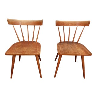Vintage Mid Century Paul McCobb Planner Group Chairs- A Pair For Sale