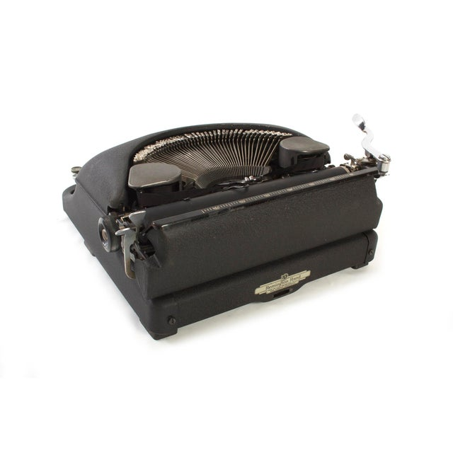 Remington Rand Typewriter - Model 5 in Excellent Working Order For Sale - Image 6 of 9