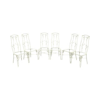 Vintage New Faux Bamboo Dining Chairs Chairish