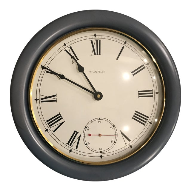 Ethan Allen Wall Clock For Sale