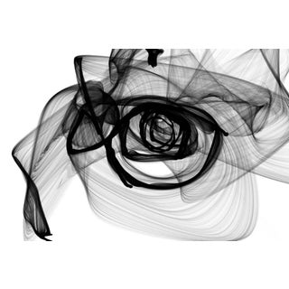 Insomnia New Media on Stretched Canvas Black and White Painting For Sale
