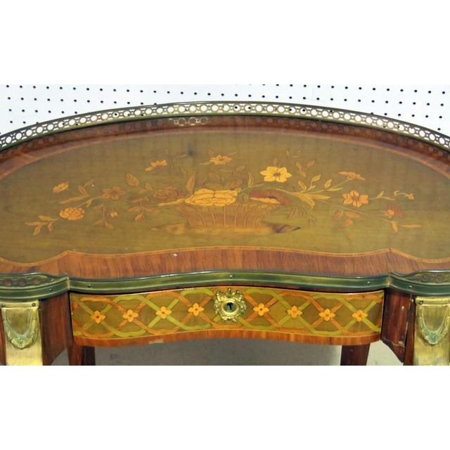 20th Century Louis XV Style Accent Table For Sale - Image 4 of 8