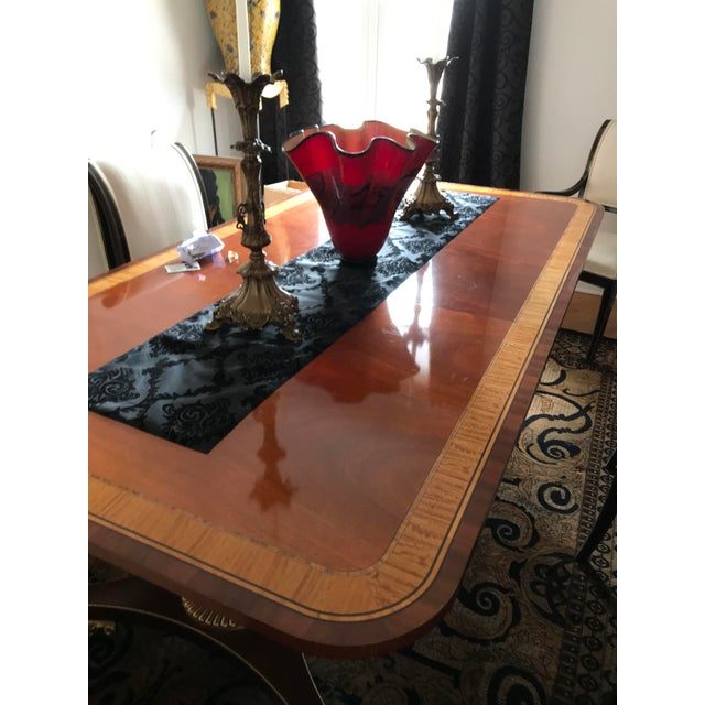 Mahogany Dining Table For Sale - Image 7 of 12