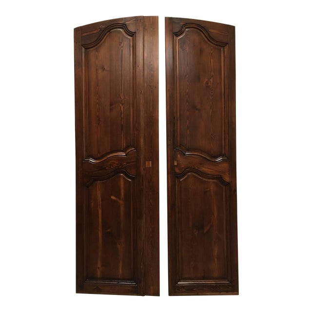 Set of Two French Provincial Country Interior Doors For Sale