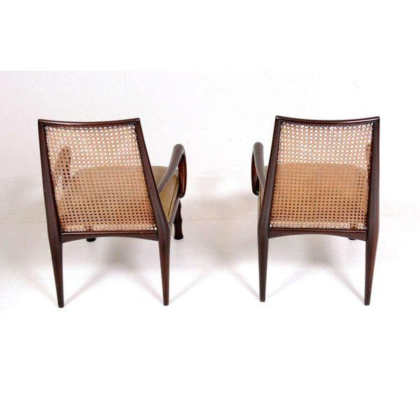 Animal Skin Mexican Modernist Lounge Chairs Attributed to Eugenio Escudero For Sale - Image 7 of 9